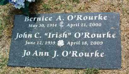 O'ROURKE, JOHN C. (IRISH) - Yavapai County, Arizona | JOHN C. (IRISH) O'ROURKE - Arizona Gravestone Photos