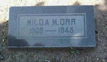 GARDINER ORR, WILDA M. - Yavapai County, Arizona | WILDA M. GARDINER ORR - Arizona Gravestone Photos