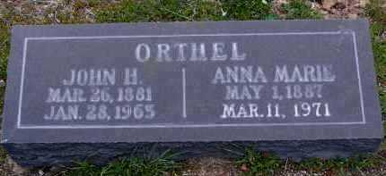 ORTHEL, ANNA MARIE - Yavapai County, Arizona | ANNA MARIE ORTHEL - Arizona Gravestone Photos