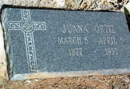 ORTIZ, JUANA - Yavapai County, Arizona   JUANA ORTIZ - Arizona Gravestone Photos