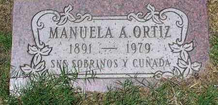 ORTIZ, MANUELA A. - Yavapai County, Arizona | MANUELA A. ORTIZ - Arizona Gravestone Photos