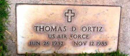 ORTIZ, THOMAS D. - Yavapai County, Arizona | THOMAS D. ORTIZ - Arizona Gravestone Photos