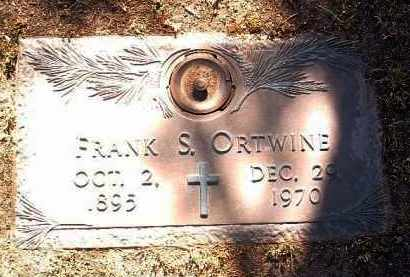 ORTWINE, FRANK SIMON - Yavapai County, Arizona | FRANK SIMON ORTWINE - Arizona Gravestone Photos