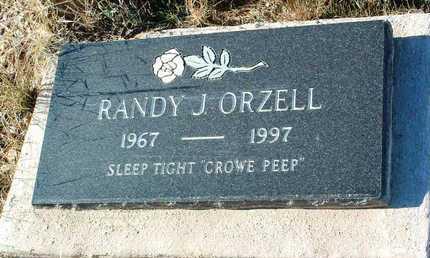 ORZELL, RANDY J. - Yavapai County, Arizona | RANDY J. ORZELL - Arizona Gravestone Photos