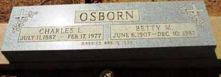 OSBORN, CHARLES L. - Yavapai County, Arizona   CHARLES L. OSBORN - Arizona Gravestone Photos