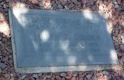 KUHNE OSBORN, HELEN - Yavapai County, Arizona | HELEN KUHNE OSBORN - Arizona Gravestone Photos