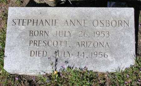 OSBORN, STEPHANIE ANNE - Yavapai County, Arizona   STEPHANIE ANNE OSBORN - Arizona Gravestone Photos