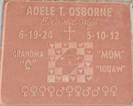 OSBORNE, ADELE THERESA - Yavapai County, Arizona | ADELE THERESA OSBORNE - Arizona Gravestone Photos