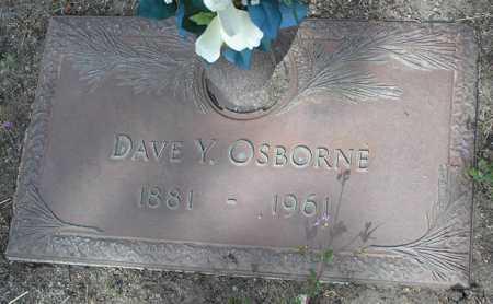 OSBORNE, DAVE Y. - Yavapai County, Arizona   DAVE Y. OSBORNE - Arizona Gravestone Photos