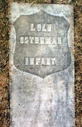 OSTERMAN, LULU  (INFANT) - Yavapai County, Arizona | LULU  (INFANT) OSTERMAN - Arizona Gravestone Photos