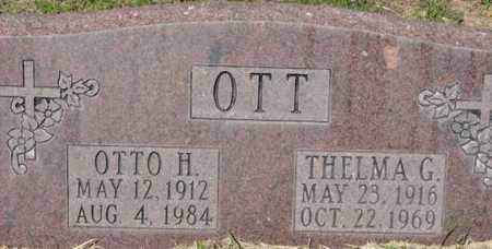 OTT, THELMA GWENDOLYN - Yavapai County, Arizona | THELMA GWENDOLYN OTT - Arizona Gravestone Photos