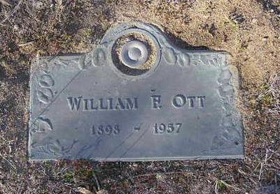 OTT, WILLIAM FREDERICK - Yavapai County, Arizona   WILLIAM FREDERICK OTT - Arizona Gravestone Photos