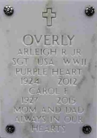 OVERLY, CAROL F. - Yavapai County, Arizona   CAROL F. OVERLY - Arizona Gravestone Photos
