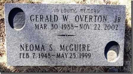 OVERTON, GERALD WAYNE, JR. - Yavapai County, Arizona | GERALD WAYNE, JR. OVERTON - Arizona Gravestone Photos