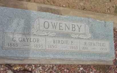 OWENBY, BYRD P. (BIRDIE) - Yavapai County, Arizona | BYRD P. (BIRDIE) OWENBY - Arizona Gravestone Photos