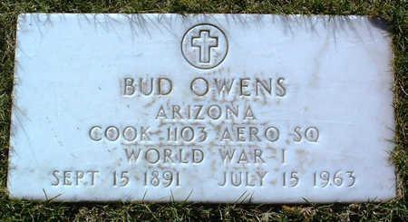 OWENS, BUD - Yavapai County, Arizona | BUD OWENS - Arizona Gravestone Photos