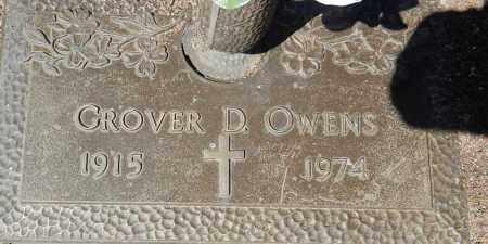 OWENS, GROVER DAVID - Yavapai County, Arizona | GROVER DAVID OWENS - Arizona Gravestone Photos