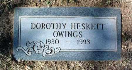 HESKETT OWINGS, DOROTHY - Yavapai County, Arizona | DOROTHY HESKETT OWINGS - Arizona Gravestone Photos