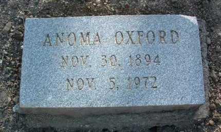 OXFORD, ANOMA - Yavapai County, Arizona   ANOMA OXFORD - Arizona Gravestone Photos