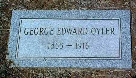 OYLER, GEORGE EDWARD - Yavapai County, Arizona | GEORGE EDWARD OYLER - Arizona Gravestone Photos