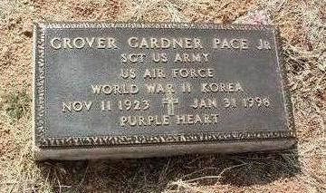 PACE, GROVER GARDNER, JR. - Yavapai County, Arizona | GROVER GARDNER, JR. PACE - Arizona Gravestone Photos