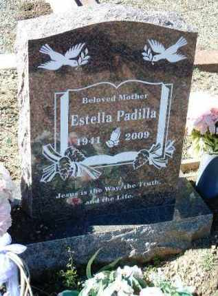 PADILLA, ESTELLA - Yavapai County, Arizona | ESTELLA PADILLA - Arizona Gravestone Photos