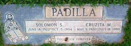 PADILLA, CRUZITA M. - Yavapai County, Arizona   CRUZITA M. PADILLA - Arizona Gravestone Photos