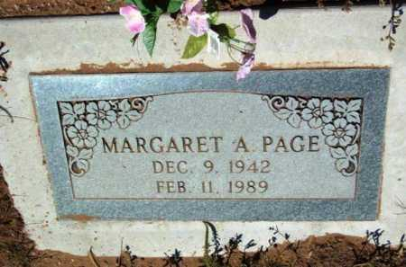 PAGE, MARGARET ALICE - Yavapai County, Arizona | MARGARET ALICE PAGE - Arizona Gravestone Photos