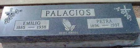 PALACIOS, EMILIO - Yavapai County, Arizona | EMILIO PALACIOS - Arizona Gravestone Photos