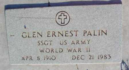 PALIN, GLEN ERNEST - Yavapai County, Arizona | GLEN ERNEST PALIN - Arizona Gravestone Photos
