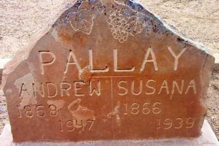 PALLAY, ANDREW - Yavapai County, Arizona | ANDREW PALLAY - Arizona Gravestone Photos