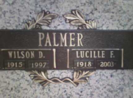 FITZLAFF PALMER, LUCILLE - Yavapai County, Arizona | LUCILLE FITZLAFF PALMER - Arizona Gravestone Photos