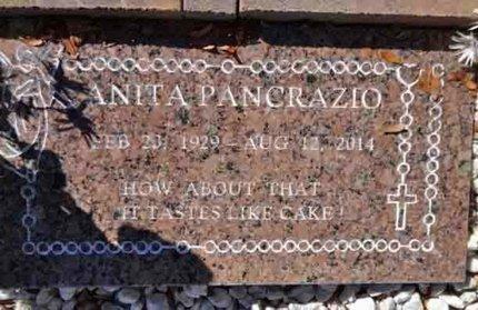 PANCRAZIO, ANITA - Yavapai County, Arizona | ANITA PANCRAZIO - Arizona Gravestone Photos