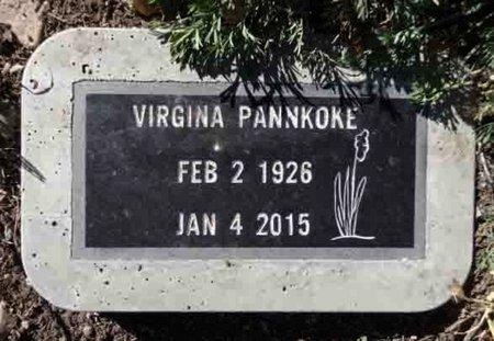 PRINGLE PANNKOKE, VIRGINIA M. - Yavapai County, Arizona   VIRGINIA M. PRINGLE PANNKOKE - Arizona Gravestone Photos