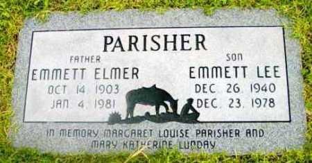 PARISER, EMMETT ELMER - Yavapai County, Arizona | EMMETT ELMER PARISER - Arizona Gravestone Photos