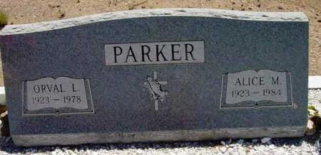 PARKER, ALICE MARY - Yavapai County, Arizona   ALICE MARY PARKER - Arizona Gravestone Photos