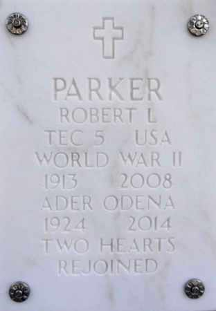 PARKER, ADER ODENA - Yavapai County, Arizona | ADER ODENA PARKER - Arizona Gravestone Photos