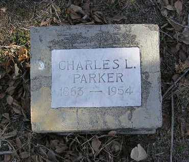 PARKER, CHARLES LOUIS - Yavapai County, Arizona | CHARLES LOUIS PARKER - Arizona Gravestone Photos