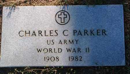 PARKER, CHARLES C., JR. - Yavapai County, Arizona | CHARLES C., JR. PARKER - Arizona Gravestone Photos
