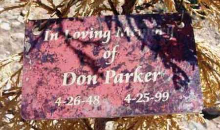 PARKER, DON - Yavapai County, Arizona | DON PARKER - Arizona Gravestone Photos