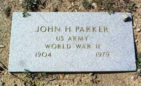 PARKER, JOHN H. - Yavapai County, Arizona | JOHN H. PARKER - Arizona Gravestone Photos