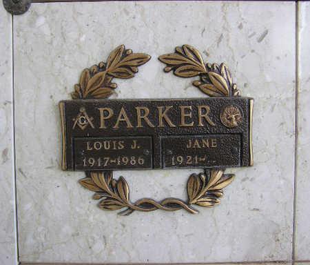PARKER, LOUIS JOHN - Yavapai County, Arizona | LOUIS JOHN PARKER - Arizona Gravestone Photos
