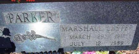 PARKER, MARSHALL LESTER - Yavapai County, Arizona   MARSHALL LESTER PARKER - Arizona Gravestone Photos