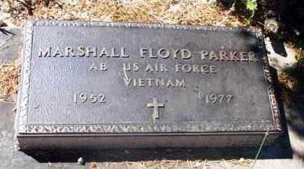 PARKER, MARSHALL FLOYD - Yavapai County, Arizona   MARSHALL FLOYD PARKER - Arizona Gravestone Photos