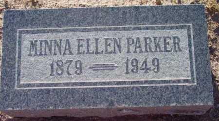 PARKER, MINNA ELLEN - Yavapai County, Arizona | MINNA ELLEN PARKER - Arizona Gravestone Photos
