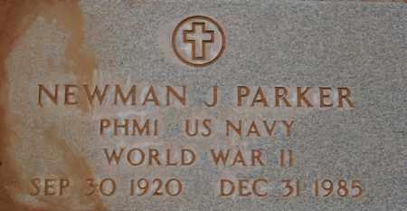 PARKER, NEWMAN JOSEPH - Yavapai County, Arizona   NEWMAN JOSEPH PARKER - Arizona Gravestone Photos