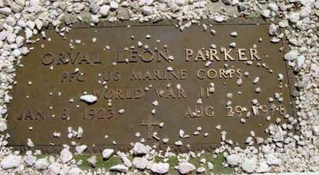 PARKER, ORVAL LEON - Yavapai County, Arizona | ORVAL LEON PARKER - Arizona Gravestone Photos
