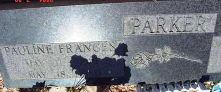 PARKER, PAULINE FRANCES - Yavapai County, Arizona | PAULINE FRANCES PARKER - Arizona Gravestone Photos
