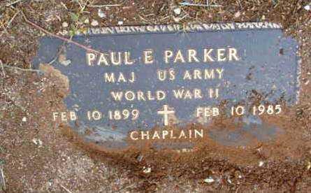 PARKER, PAUL E. - Yavapai County, Arizona | PAUL E. PARKER - Arizona Gravestone Photos