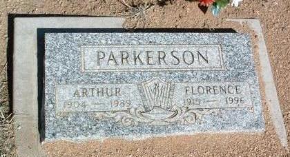 WEST PARKERSON, F. E. - Yavapai County, Arizona | F. E. WEST PARKERSON - Arizona Gravestone Photos